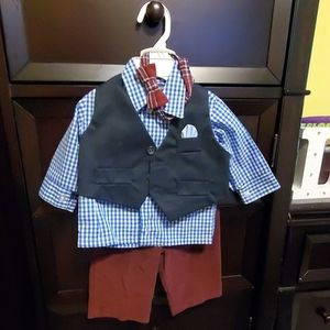 Baby boy dress outfit